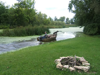 Our cabin rental is the perfect fishing cabin for bass, northern pike, and walleye fishing.