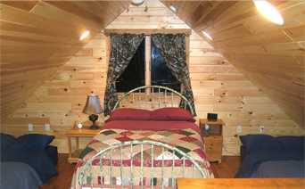 Bedding is included in cabin rentals